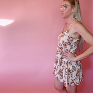 Forever 21 Dresses - Forever 21 Floral Babydoll Mini Dress